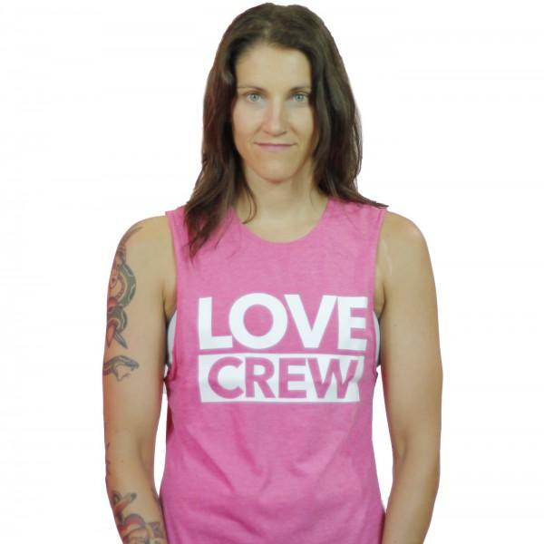 Tank Top Love Crew Wild Pink