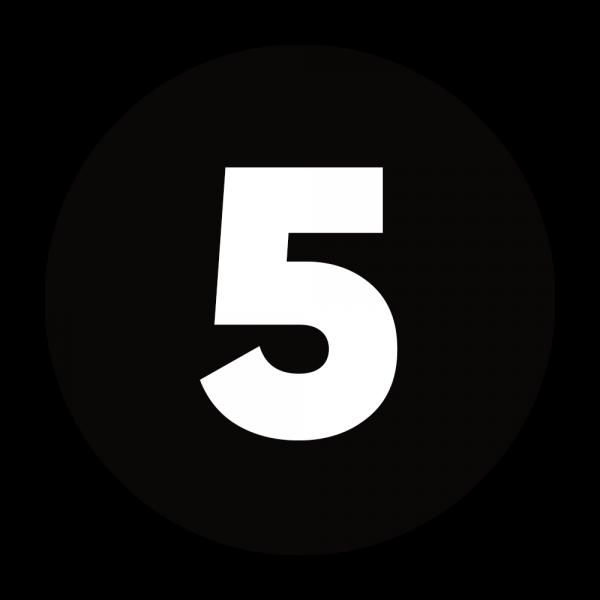 5 RIDES