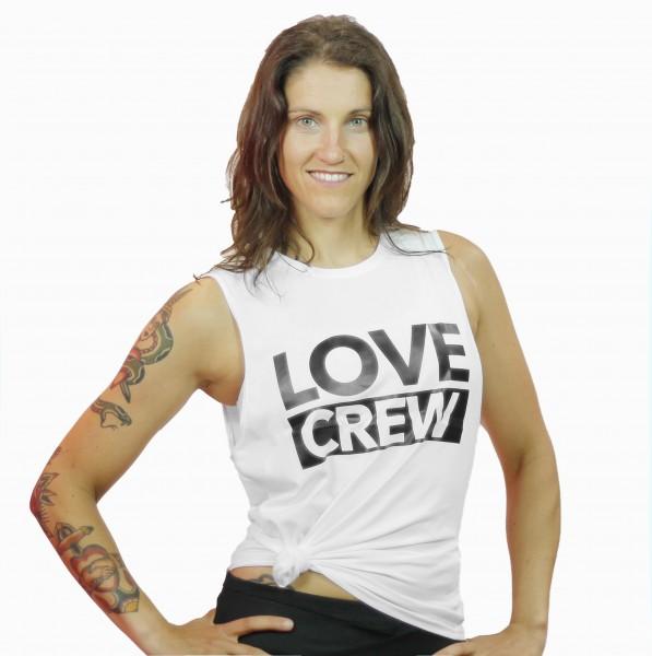 Tank Top Love Crew White